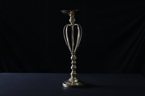 Old Gold Candle Stand