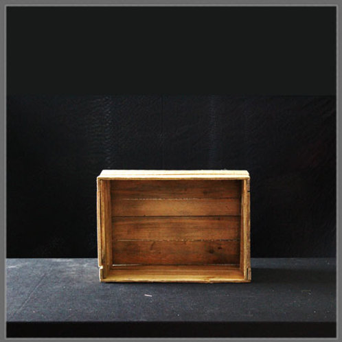 Wooden Box (Gold)