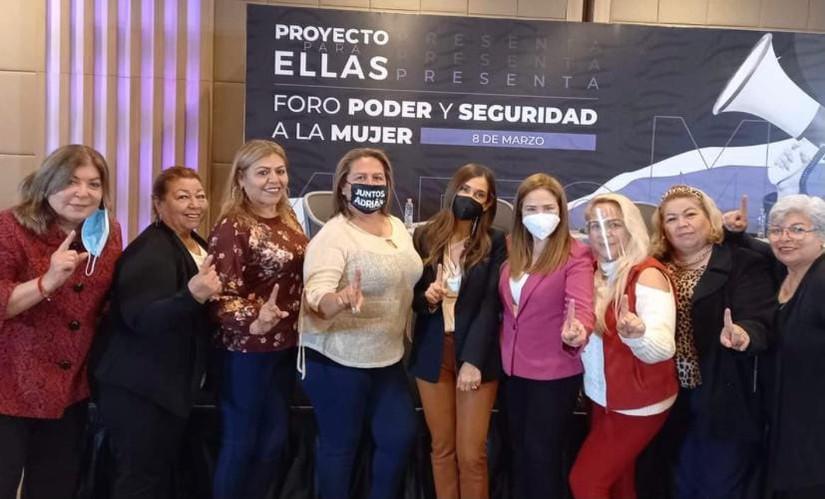 """Foro  """" Poder y Seguridad a la Mujer"""
