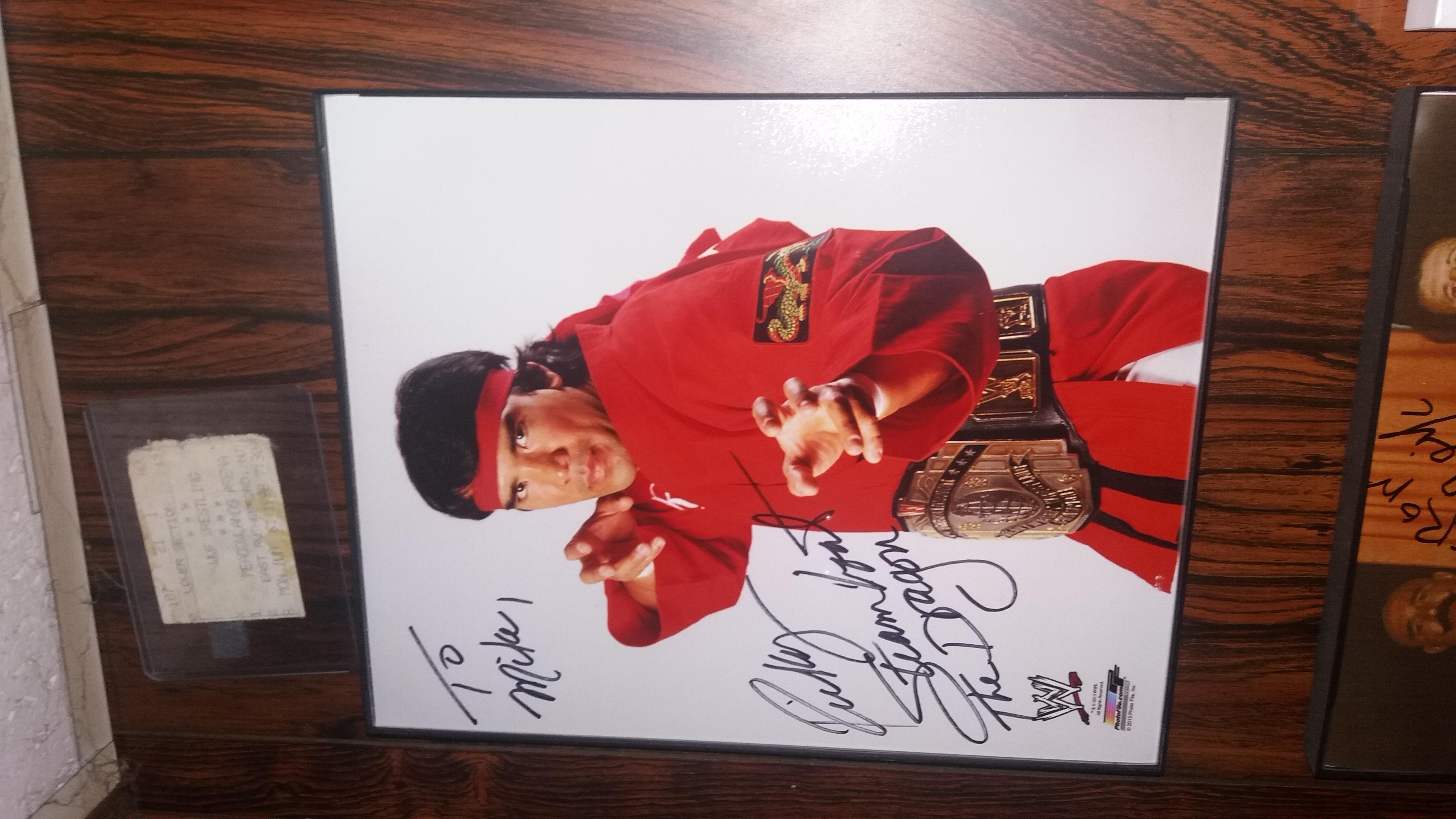 Ricky Steamboat Photfile