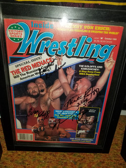 Inside Wrestling October 1985