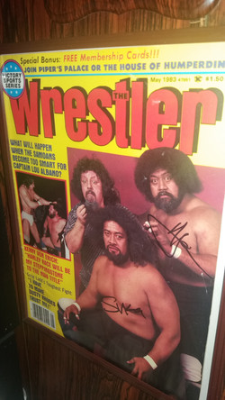 The Wrestler May 1983