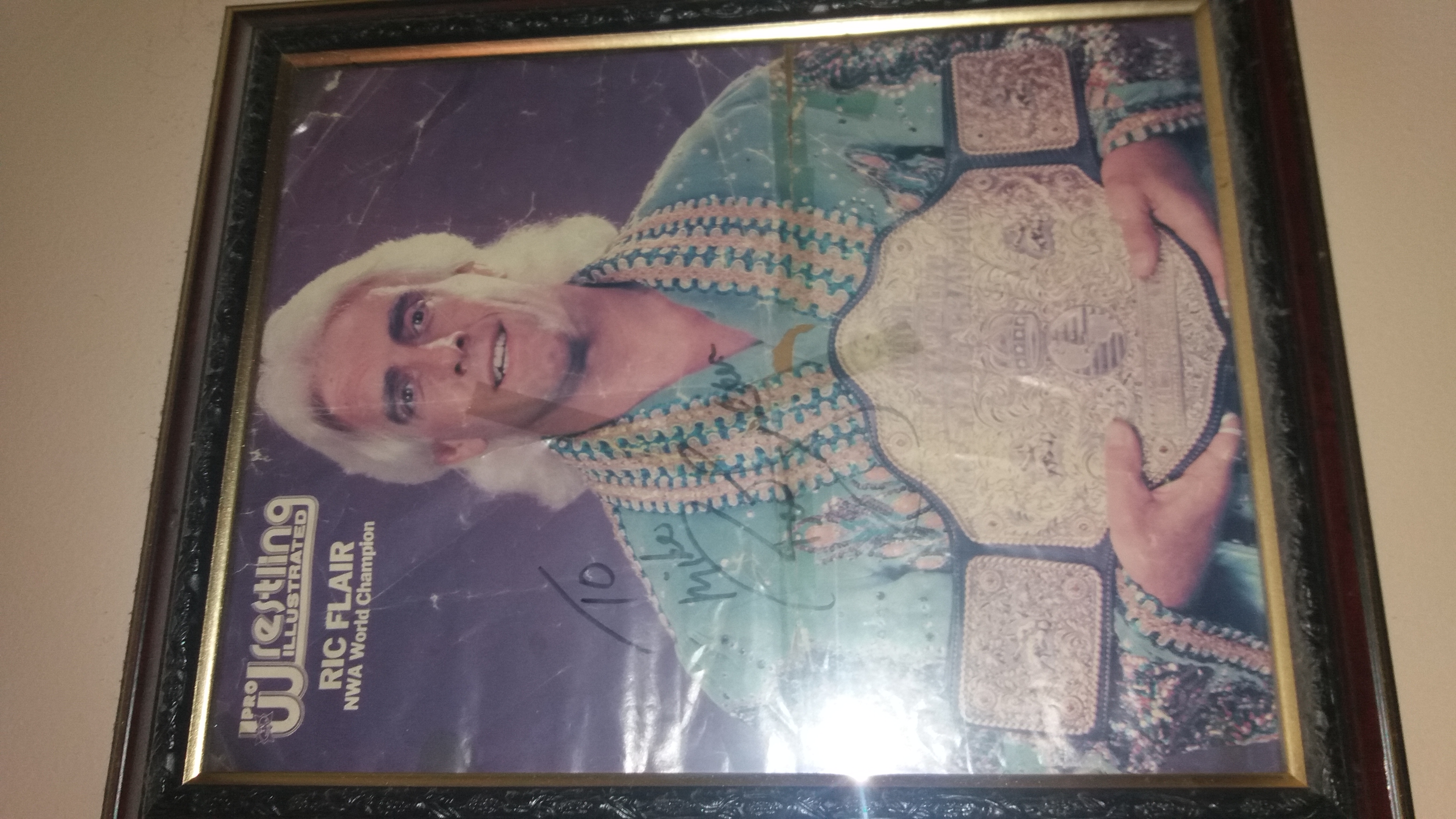 Ric Flair PWI Poster