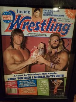 Inside Wrestling July 1988