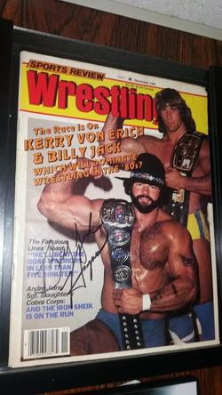 Sports Review Wrestling November 1984