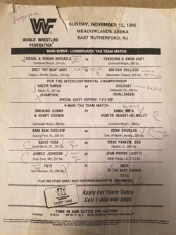 WWF November 12, 1995