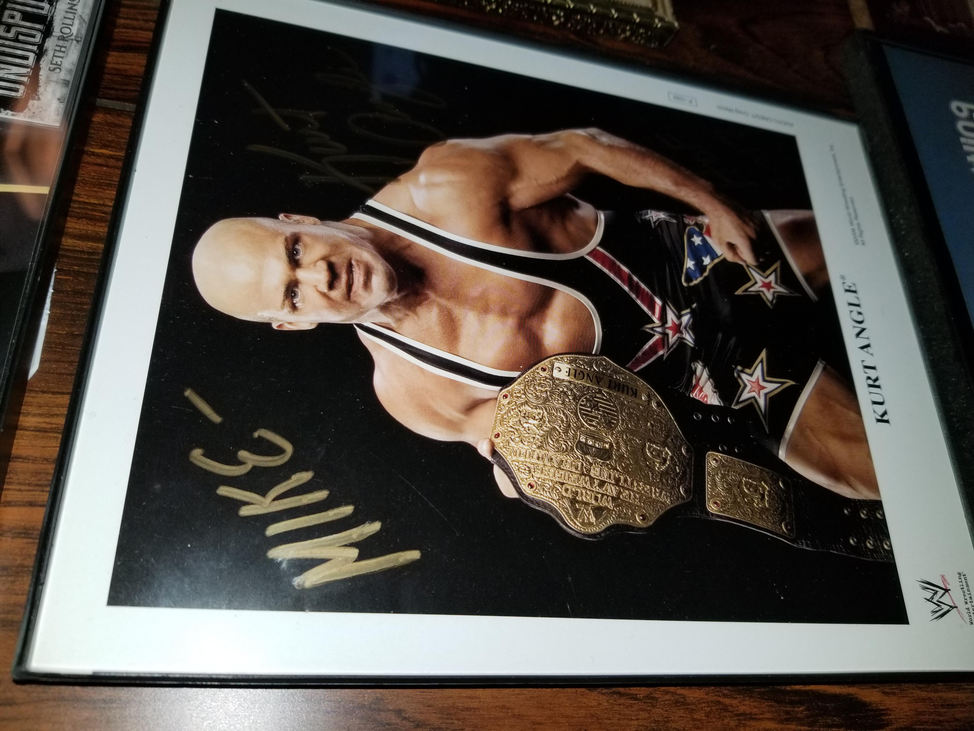 Kurt Angle WWE Promo
