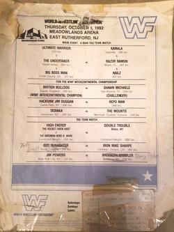 WWF October 1, 1992