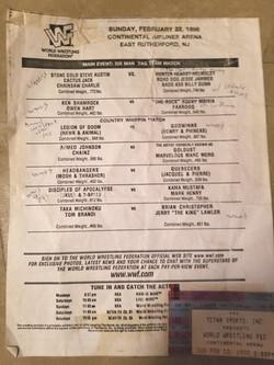 WWF February 22, 1998