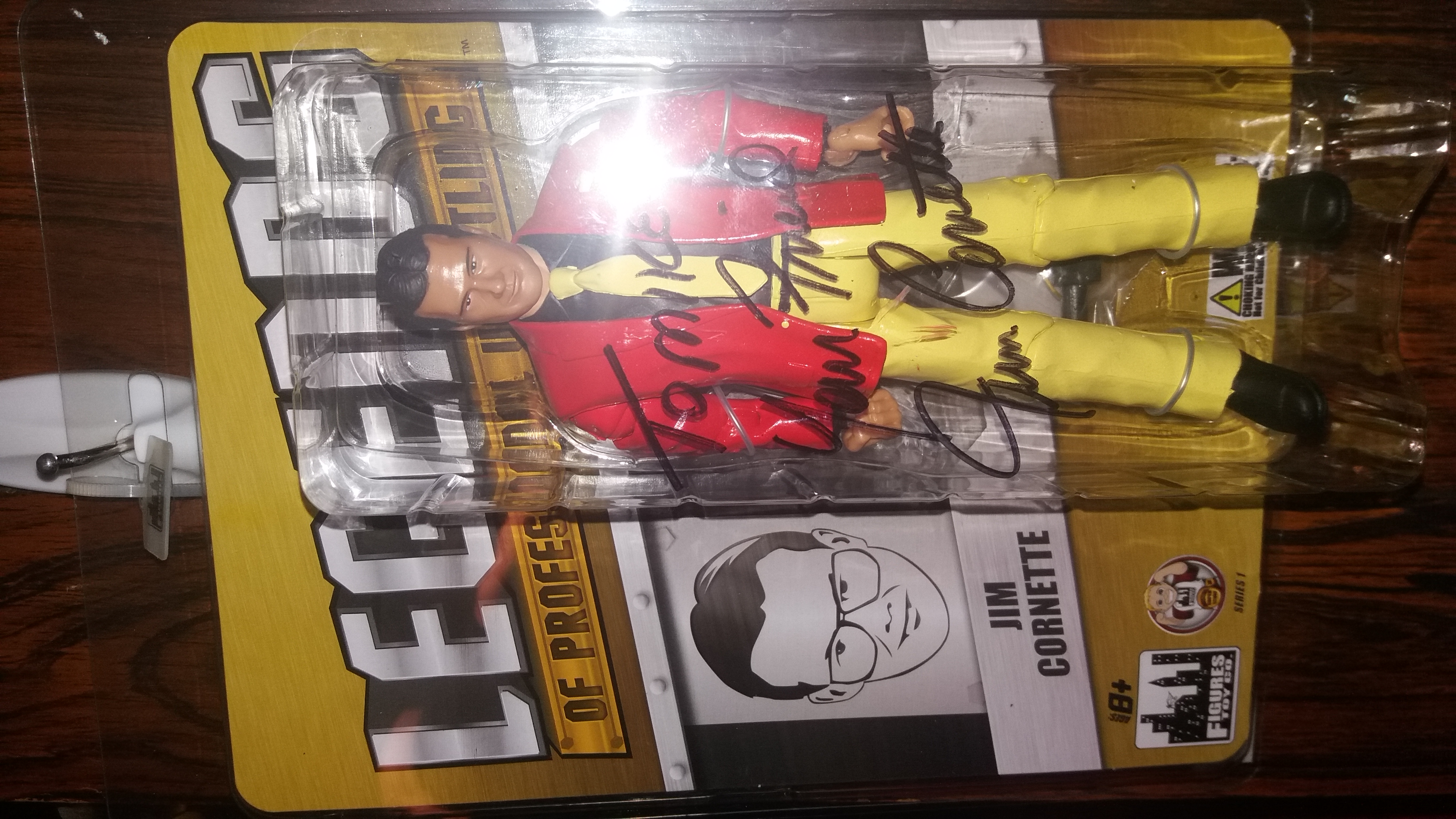 Jim Cornette Legends Action Figure