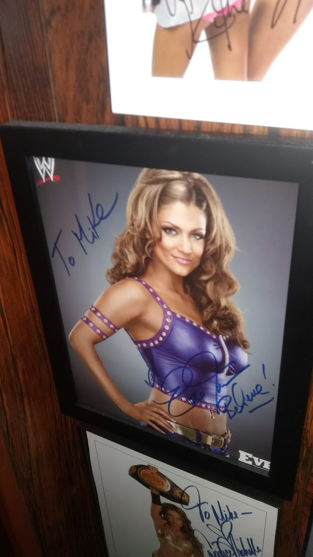 Eve Torres signed photo