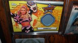 Carmella SummerSlam Mat