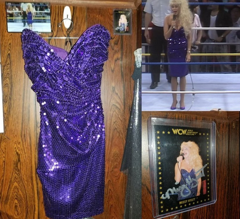 Missy Hyatt Ring Worn Dress