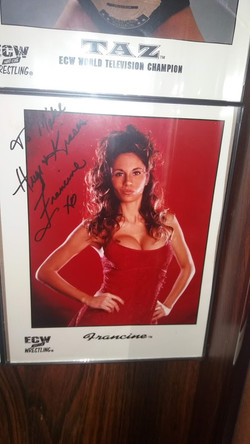Francine ECW Promo