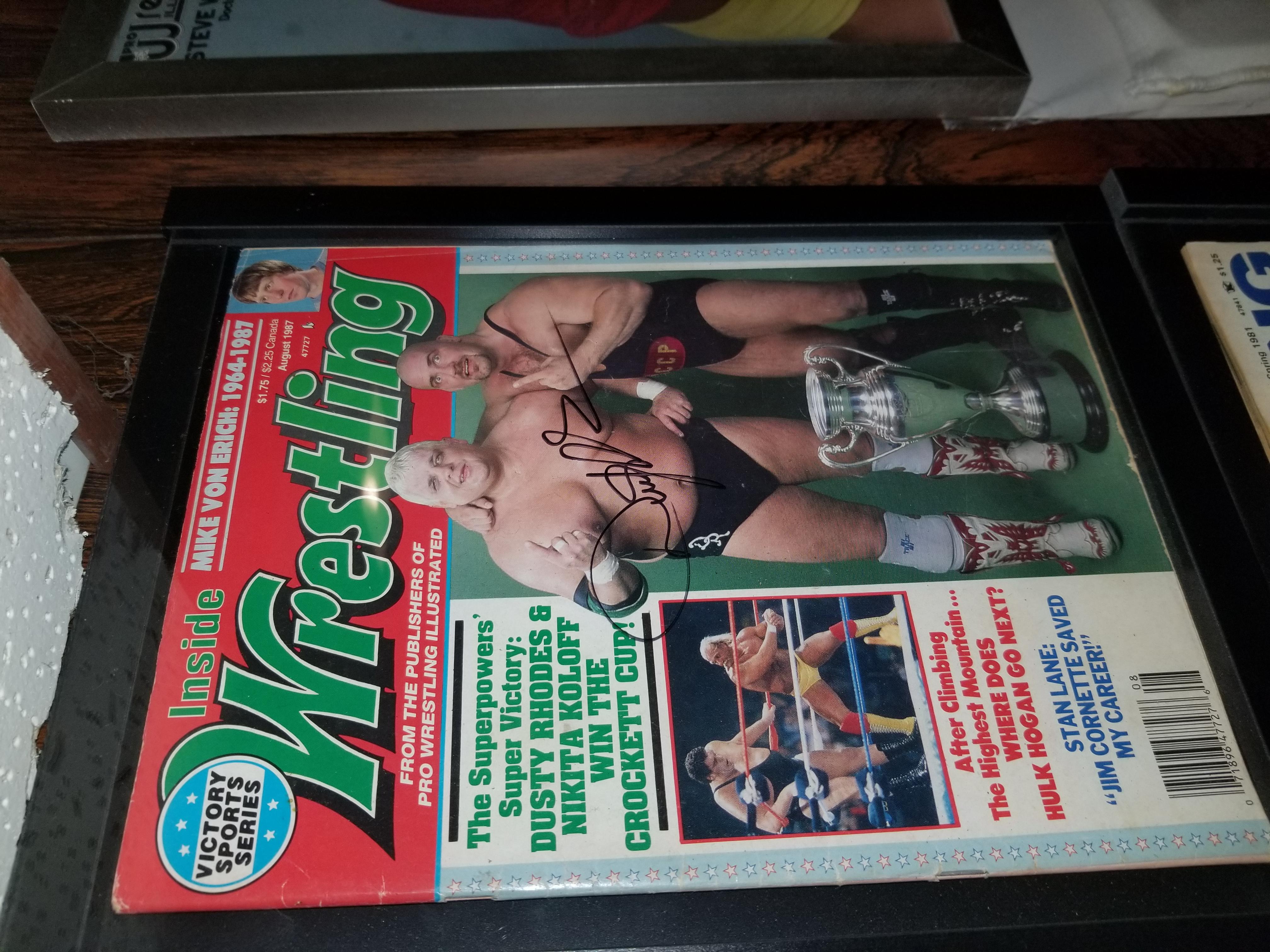 Inside Wrestling August 1987