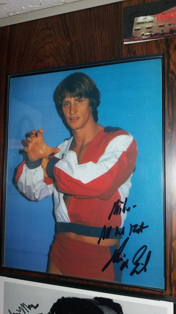 Kevin Von Erich Signed Photo