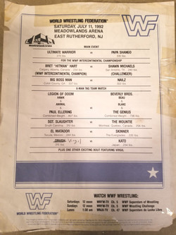 WWF July 11, 1992