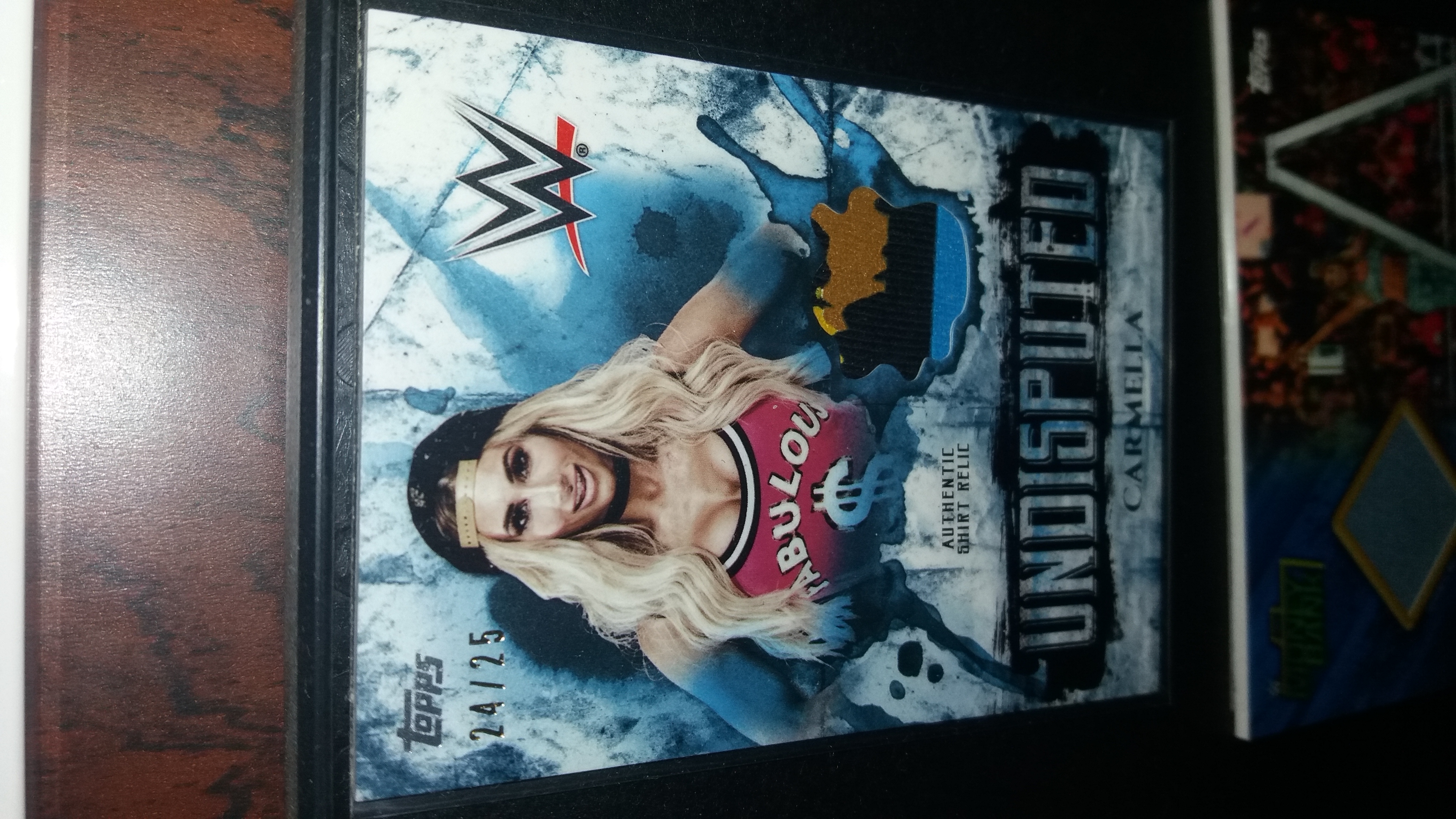 Carmella two color shirt relic