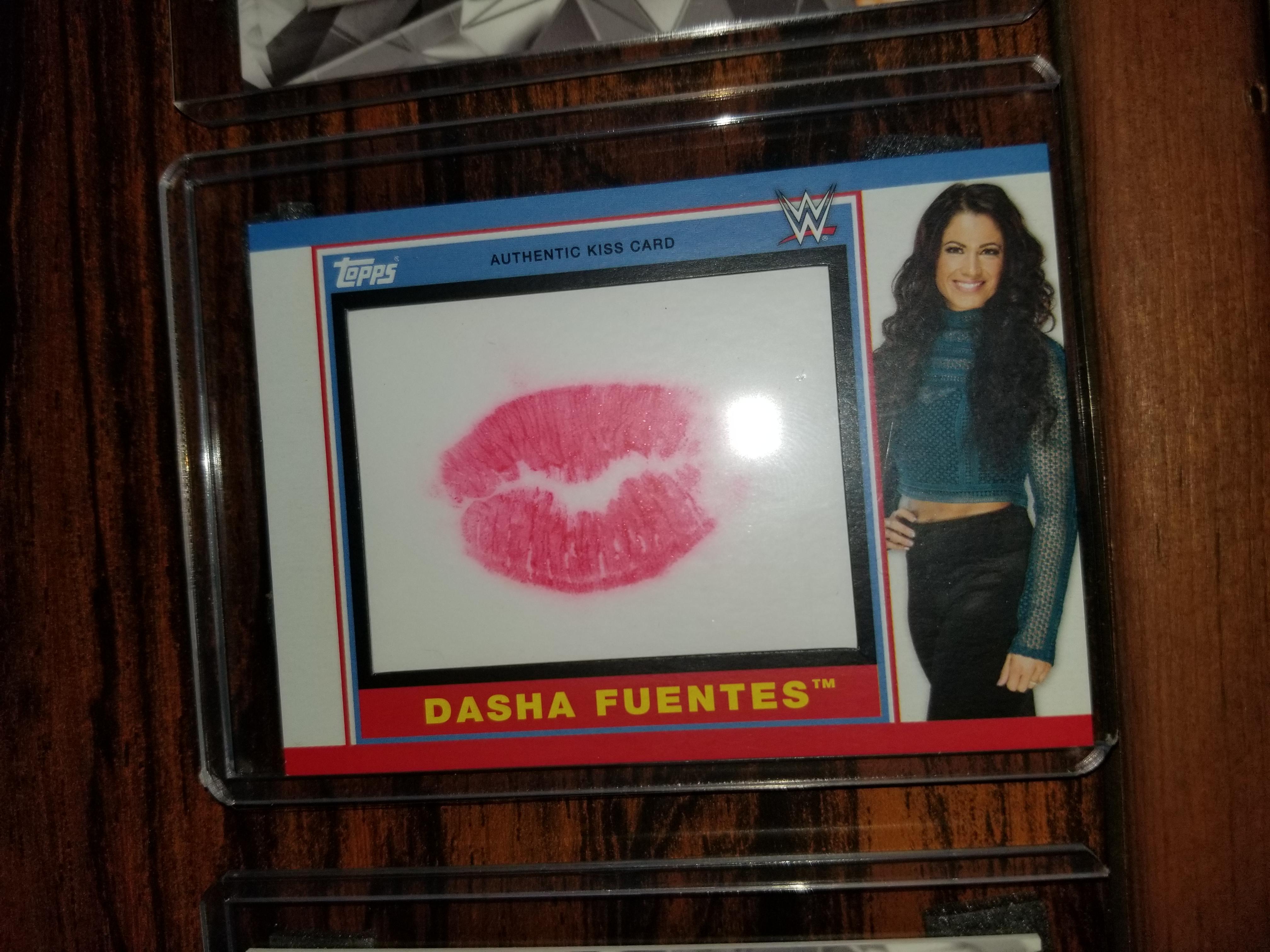 Dasha Fuentes Kiss Card