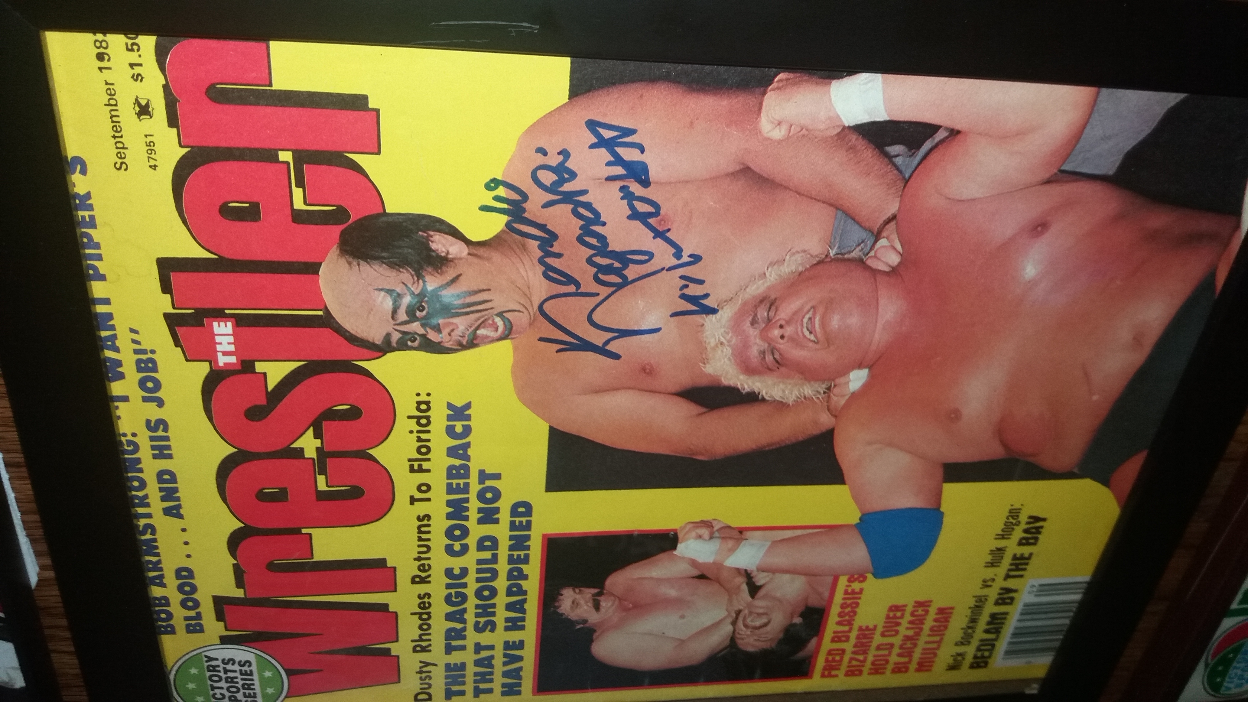 The Wrestler September 1982