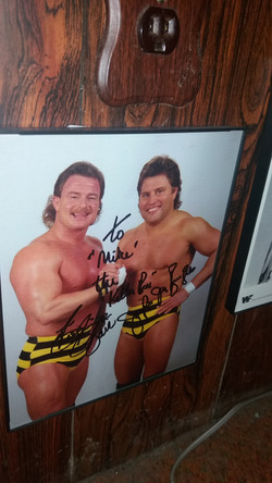 Killer Bees Signed Photo