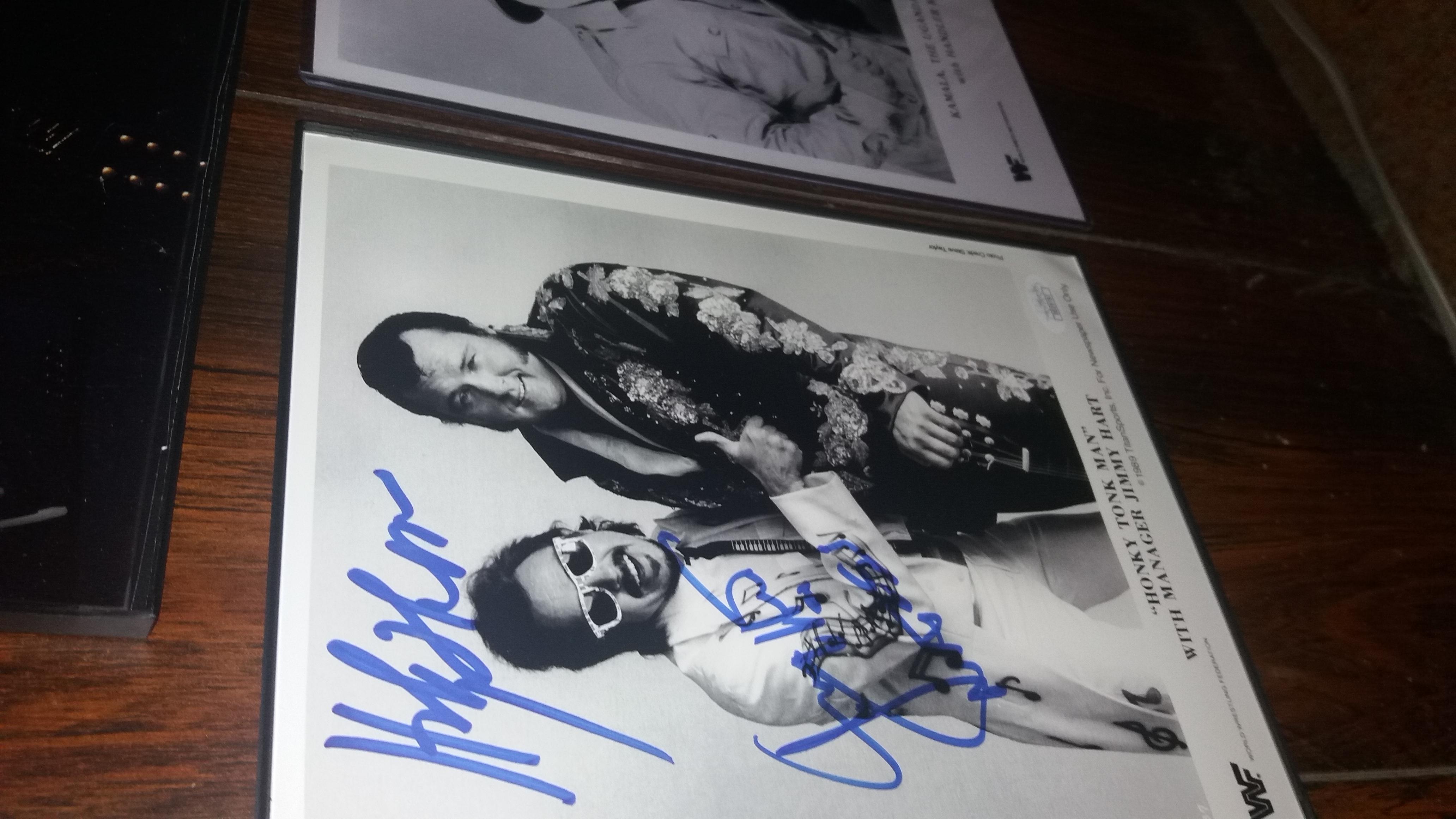 Jimmy Hart w/Honky Tonk Man