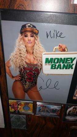 Carmella Signed Photo