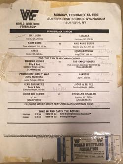 WWF February 13, 1995