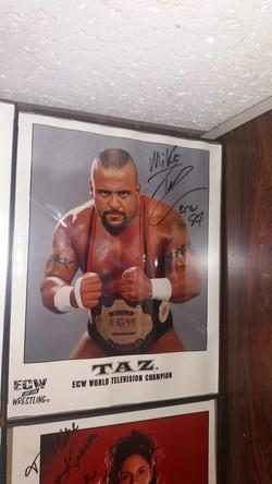 Taz signed ECW promo
