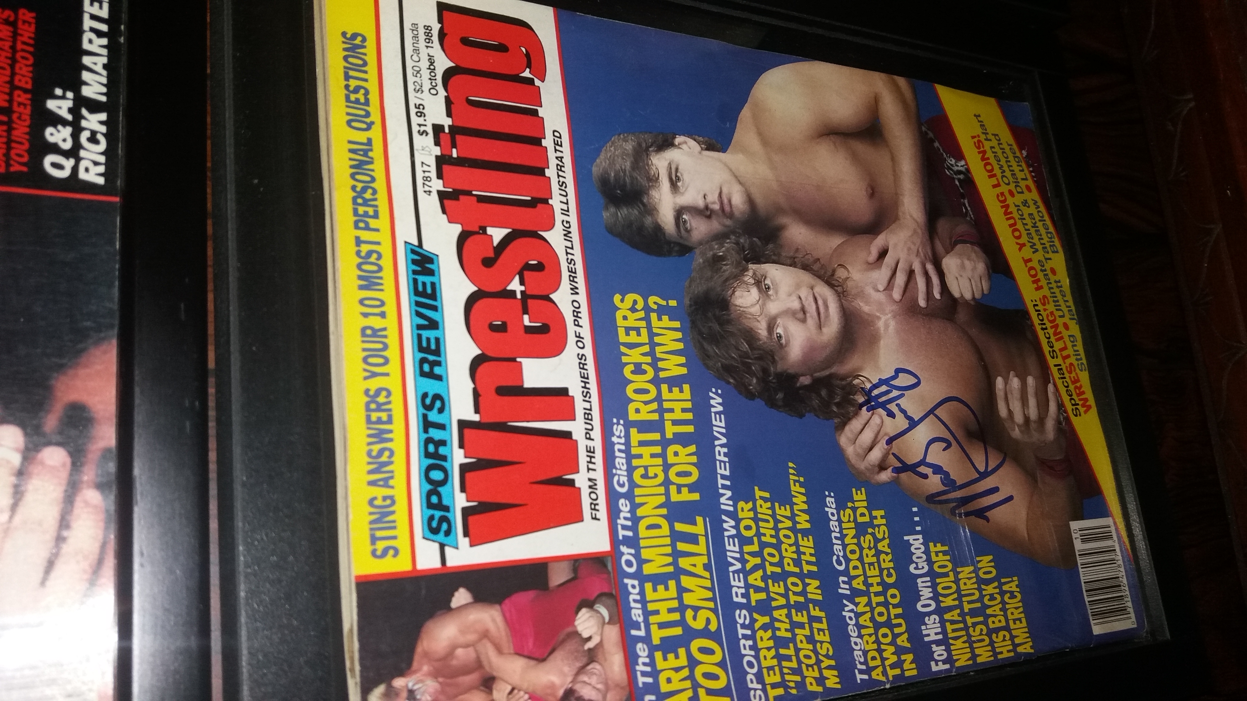 Sports Review Wrestling October 1988