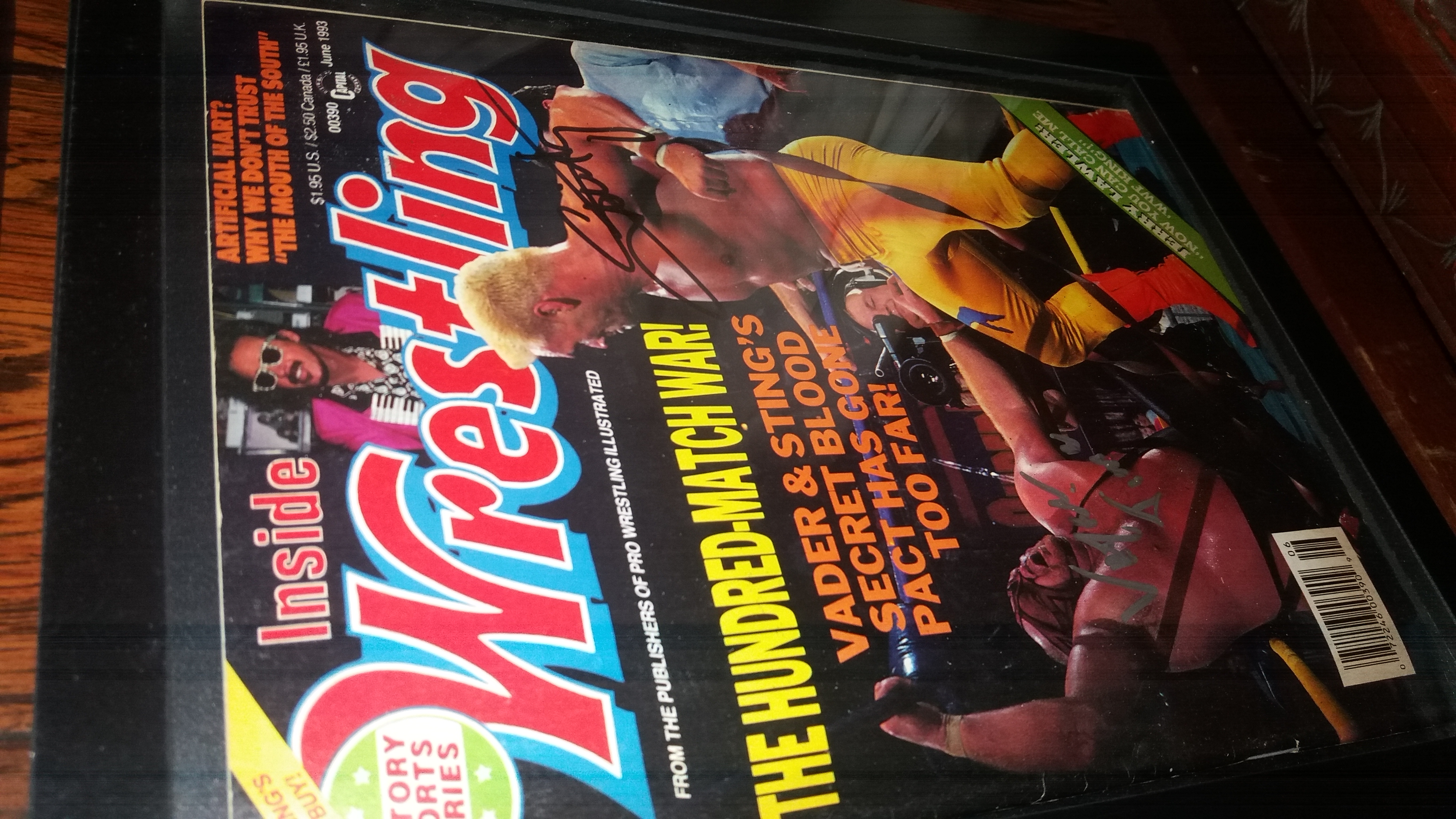 Inside Wrestling June 1993