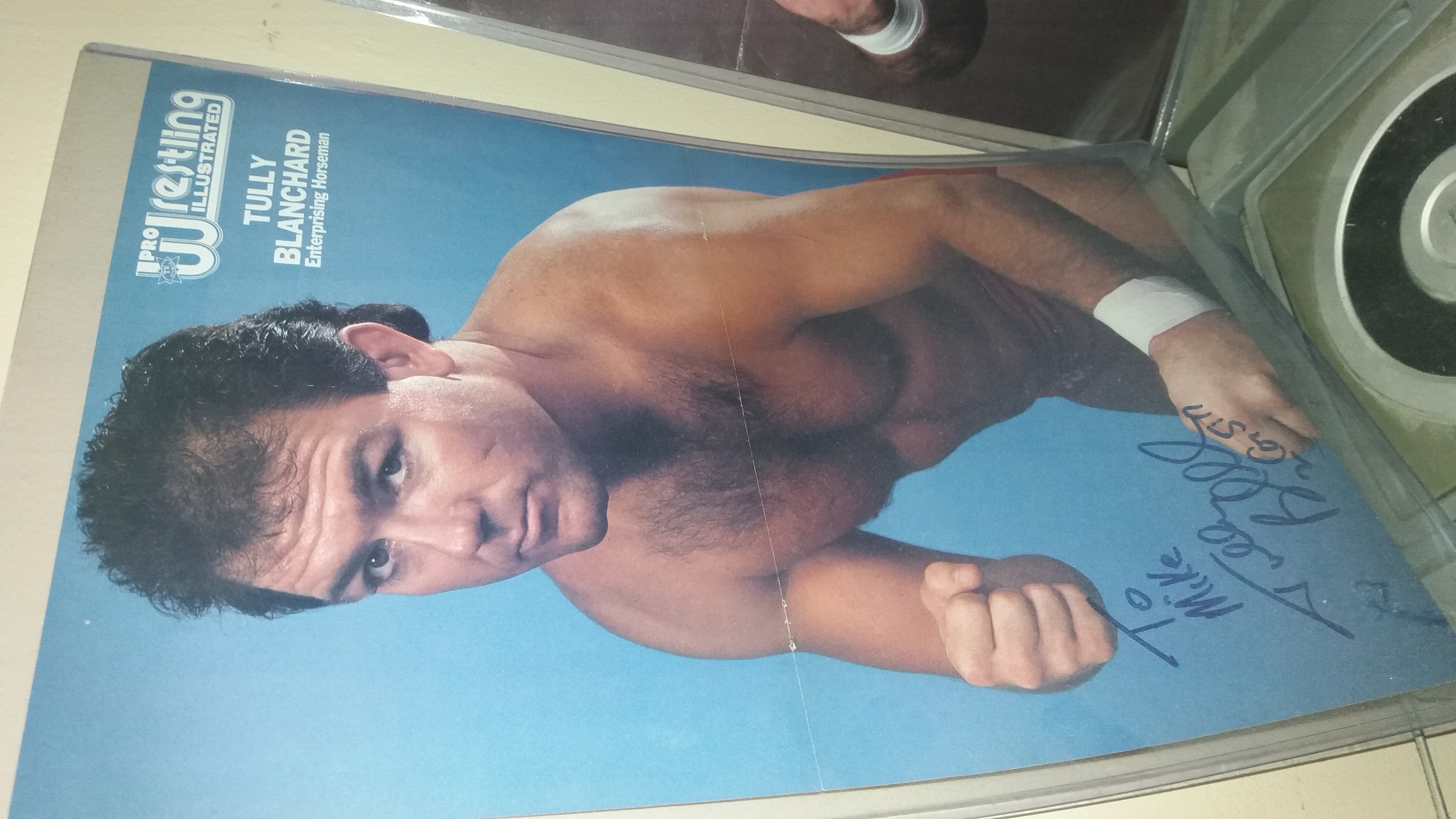 Tully Blanchard PWI Poster June 1988