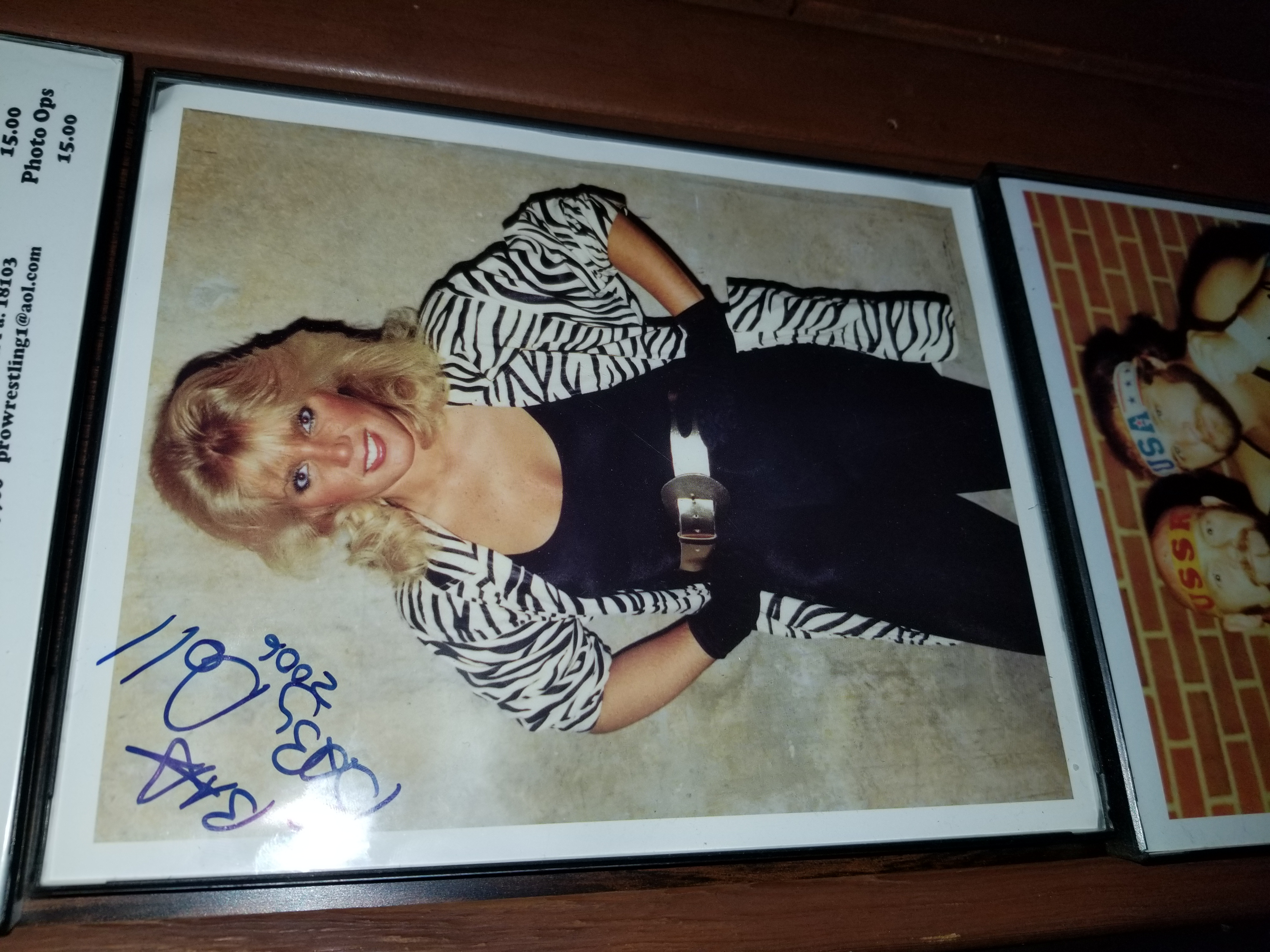 Baby Doll signed photo