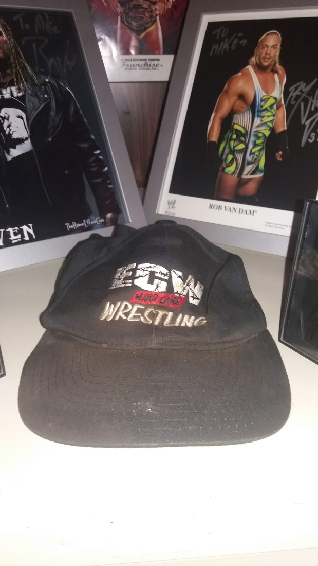 "ECW ""Hardcore"" Wrestling Hat"