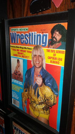 Sports review Wrestling July 1981