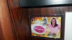 Velvet Sky Champion Kiss Card