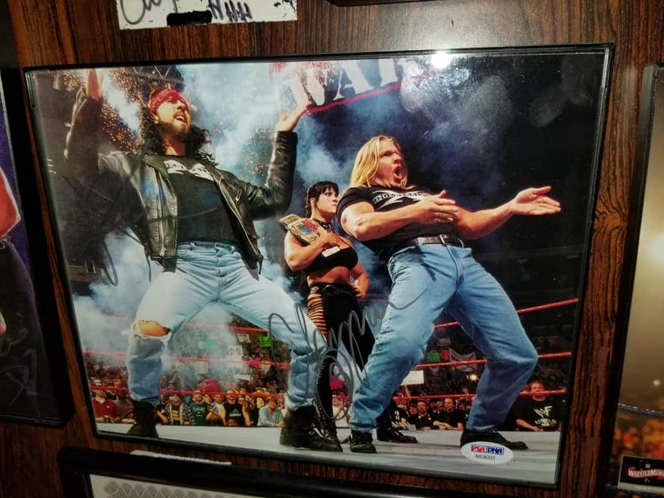 X-Pac, Chyna & Triple H