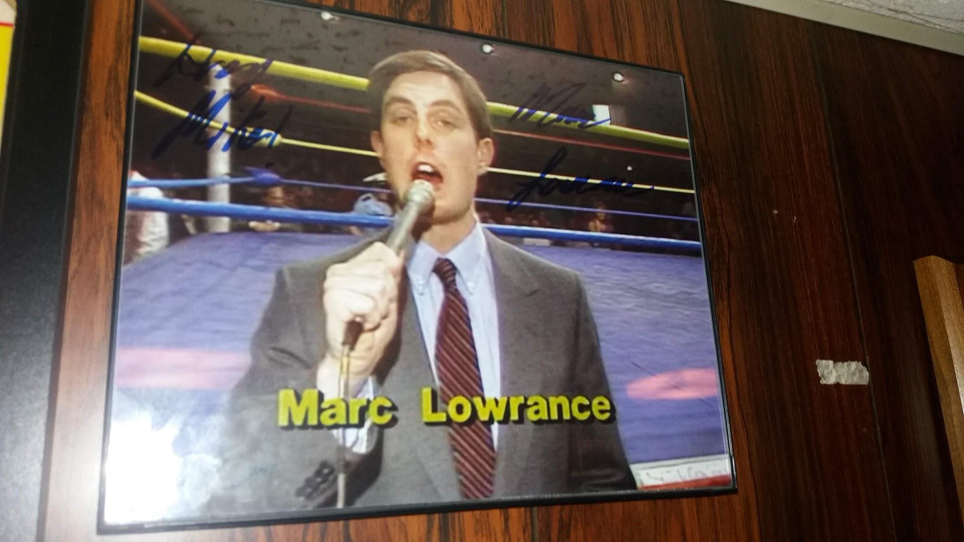 Marc Lowrance Signed Photo