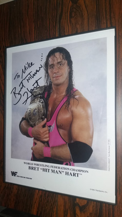 Bret Hart WWF Title Promo