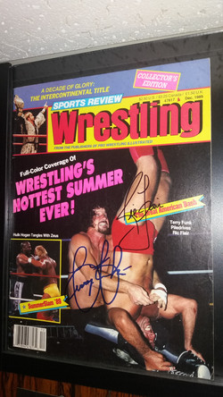 Sports Review Wrestling December 1989