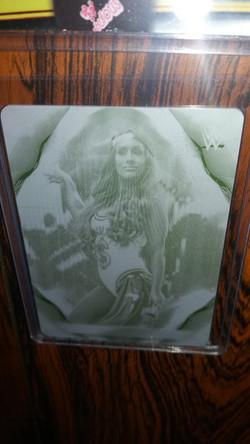 Carmella Undisputed Printing Plate