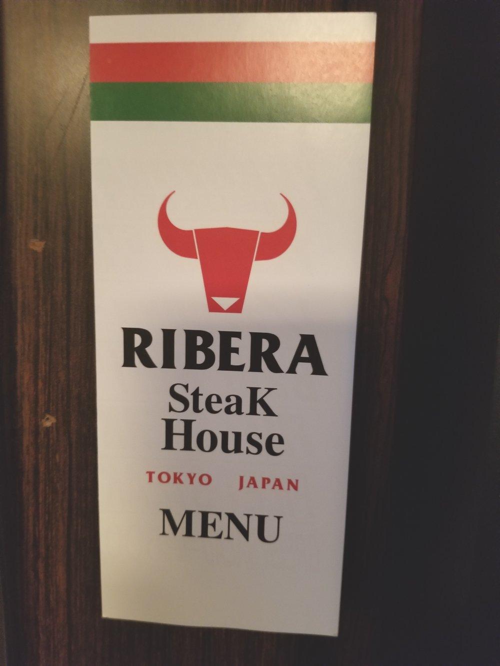Ribera Steakhouse Menu