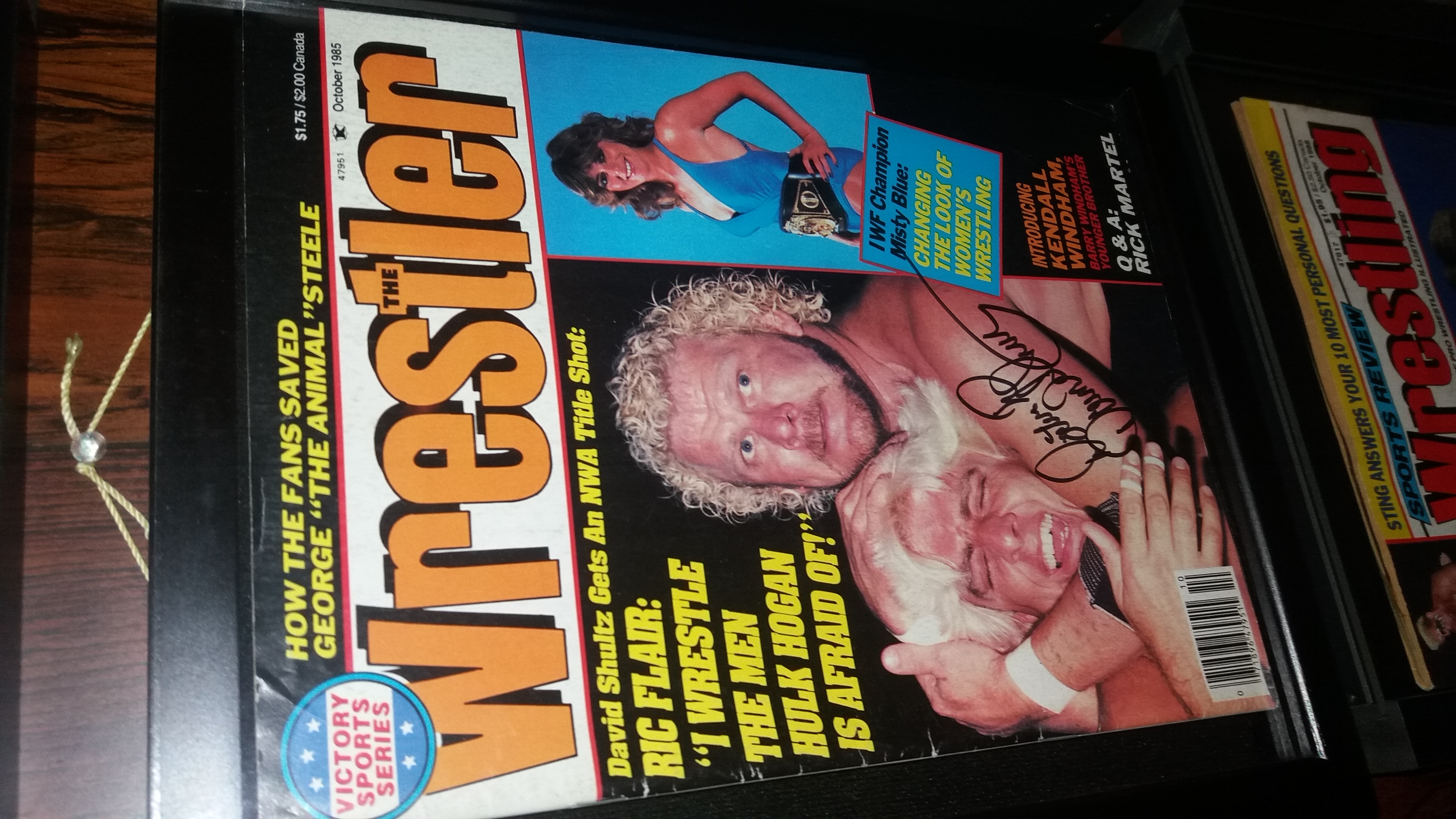 The Wrestler October 1985