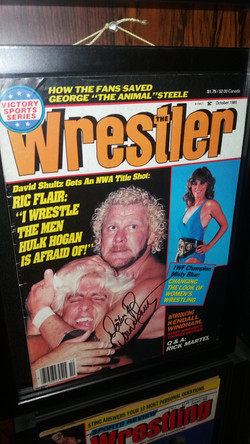 The Wrestler October 1985