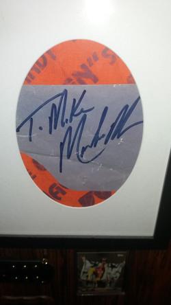 Signature & Bandana closeup