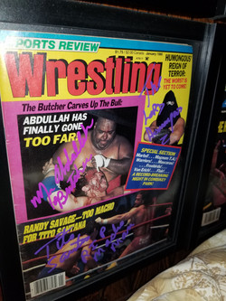 Sports Review Wrestling January 1986