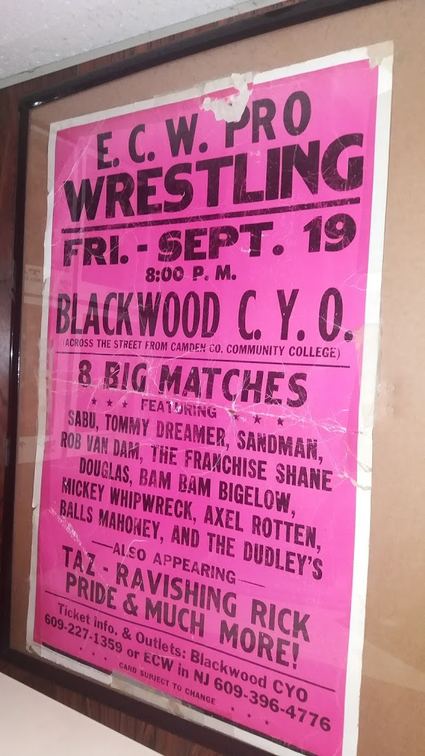 ECW Event Poster