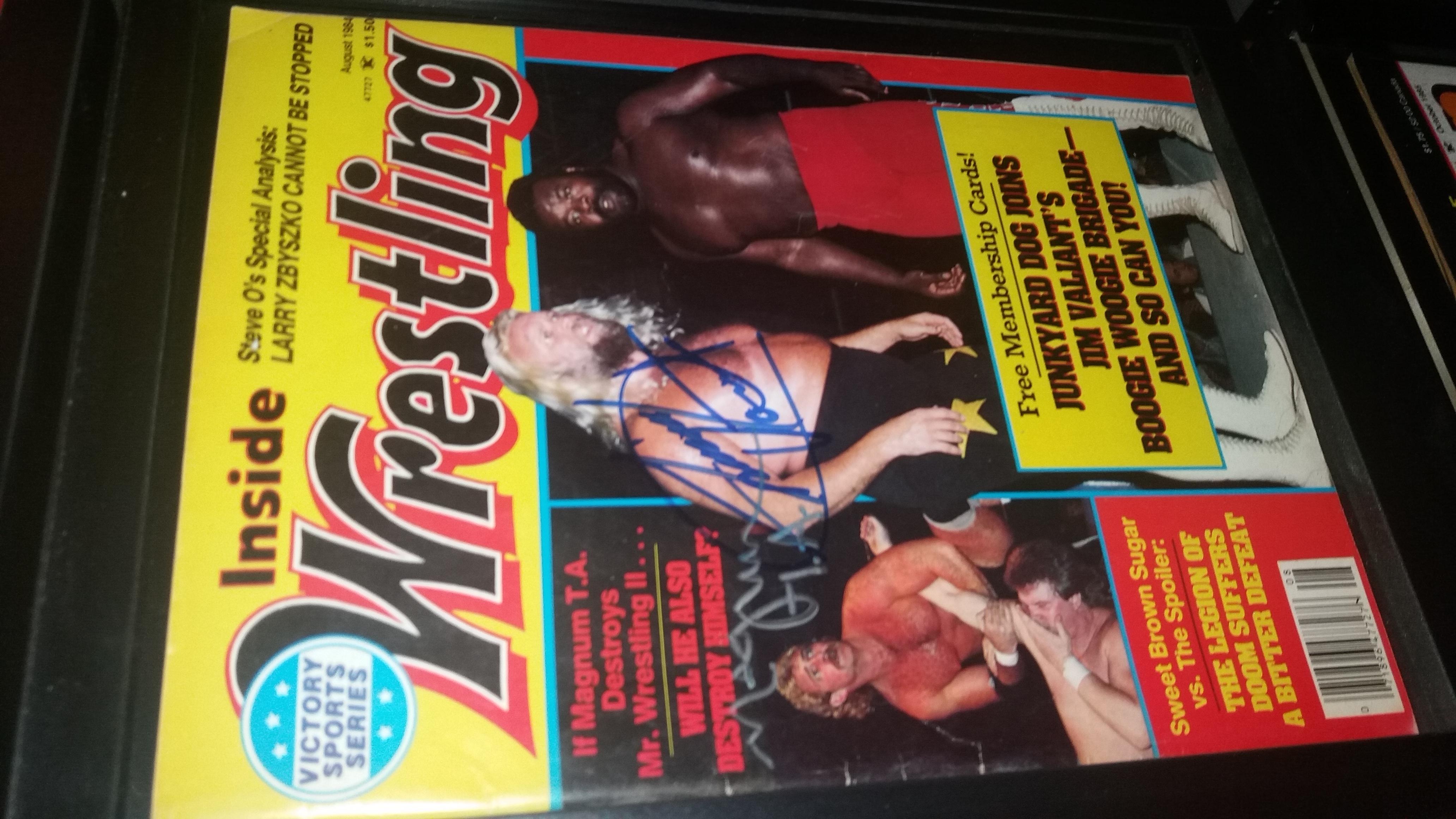 Inside Wrestling August 1984