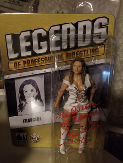 Francine action figure