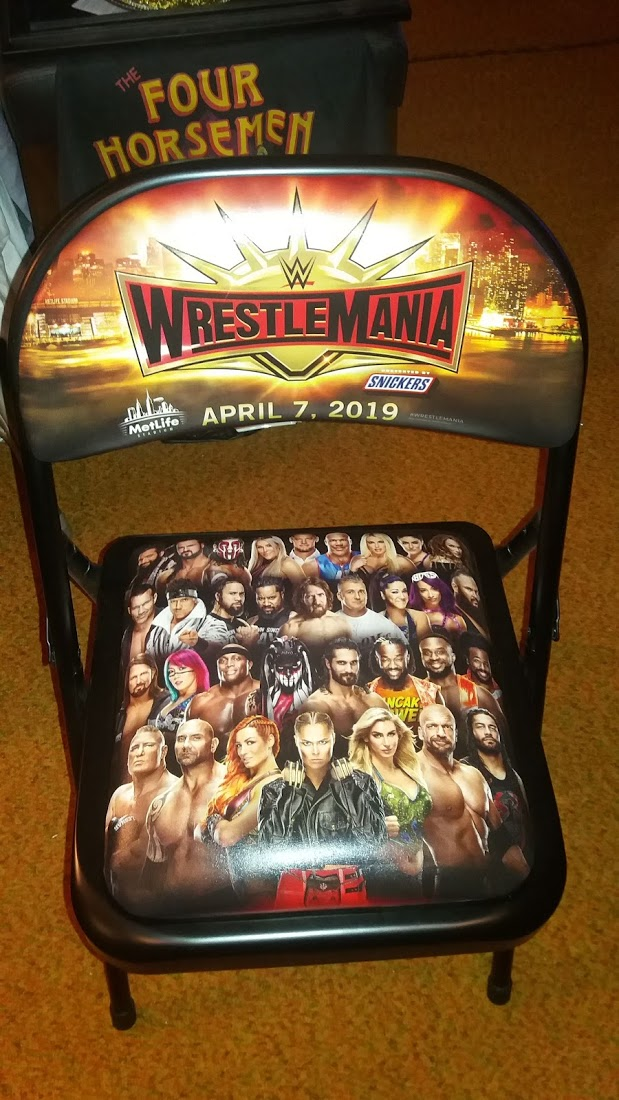 WresteMania 35 Chair